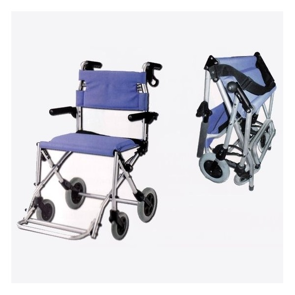Sillas de ruedas - Silla de ruedas de transferencia plegable y portatil ...